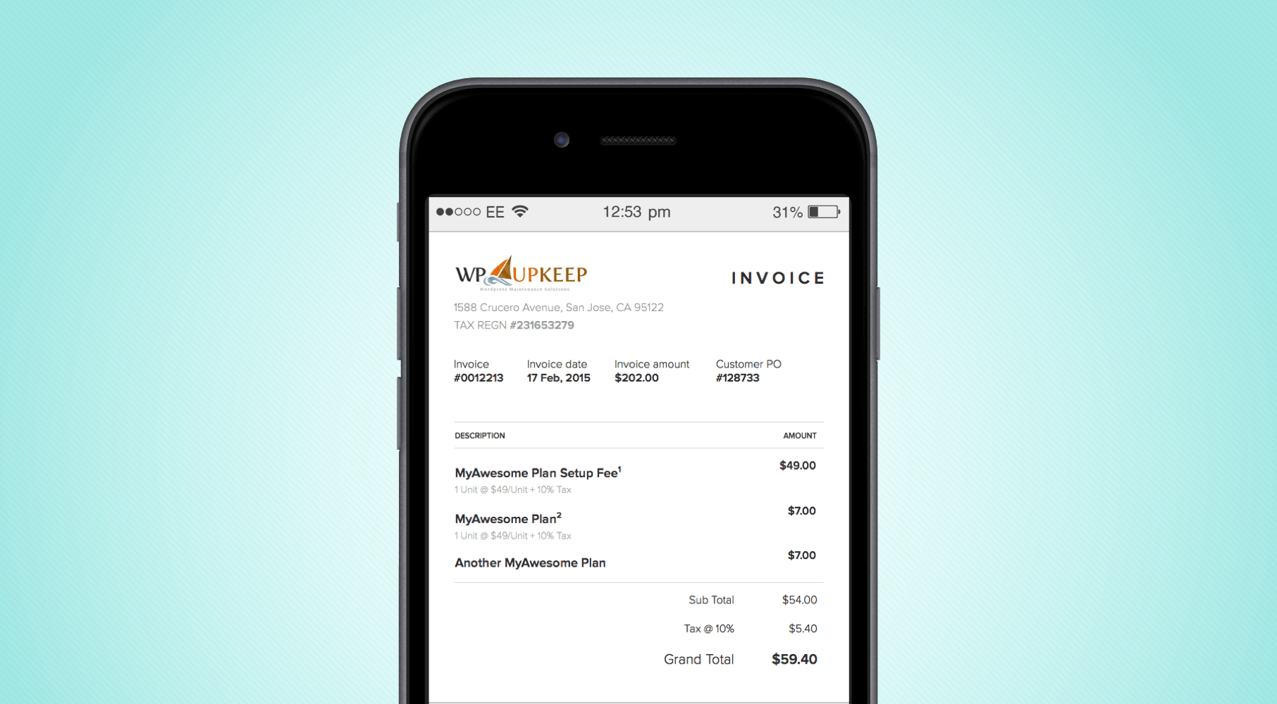 the new invoice timeline chargebee