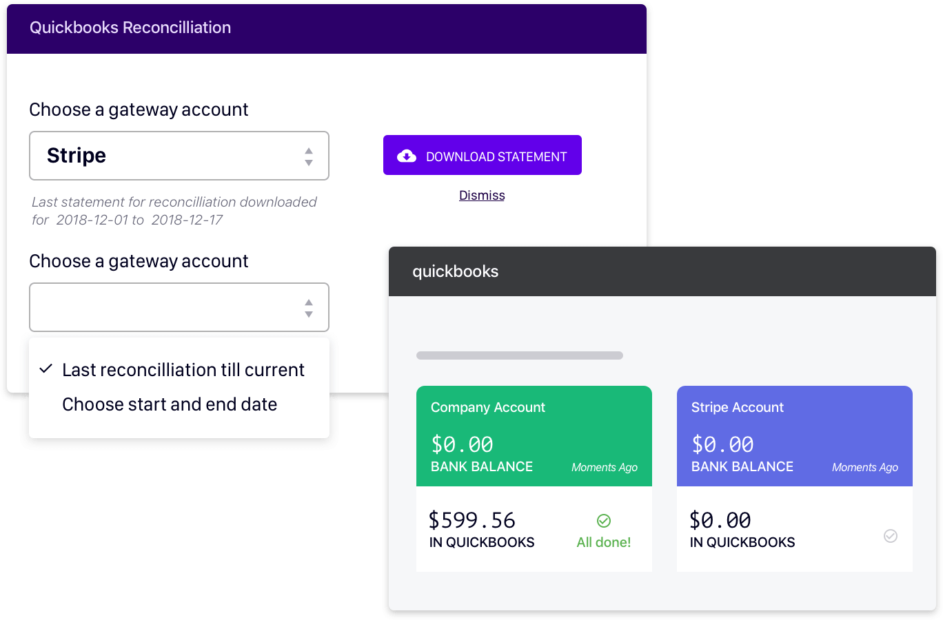 Chargebee's Gateway Statements = Your Book of Accounts.