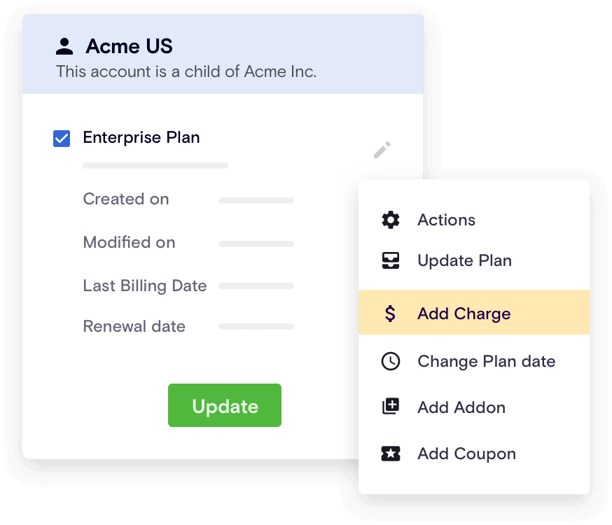 Manage subscriptions at scale