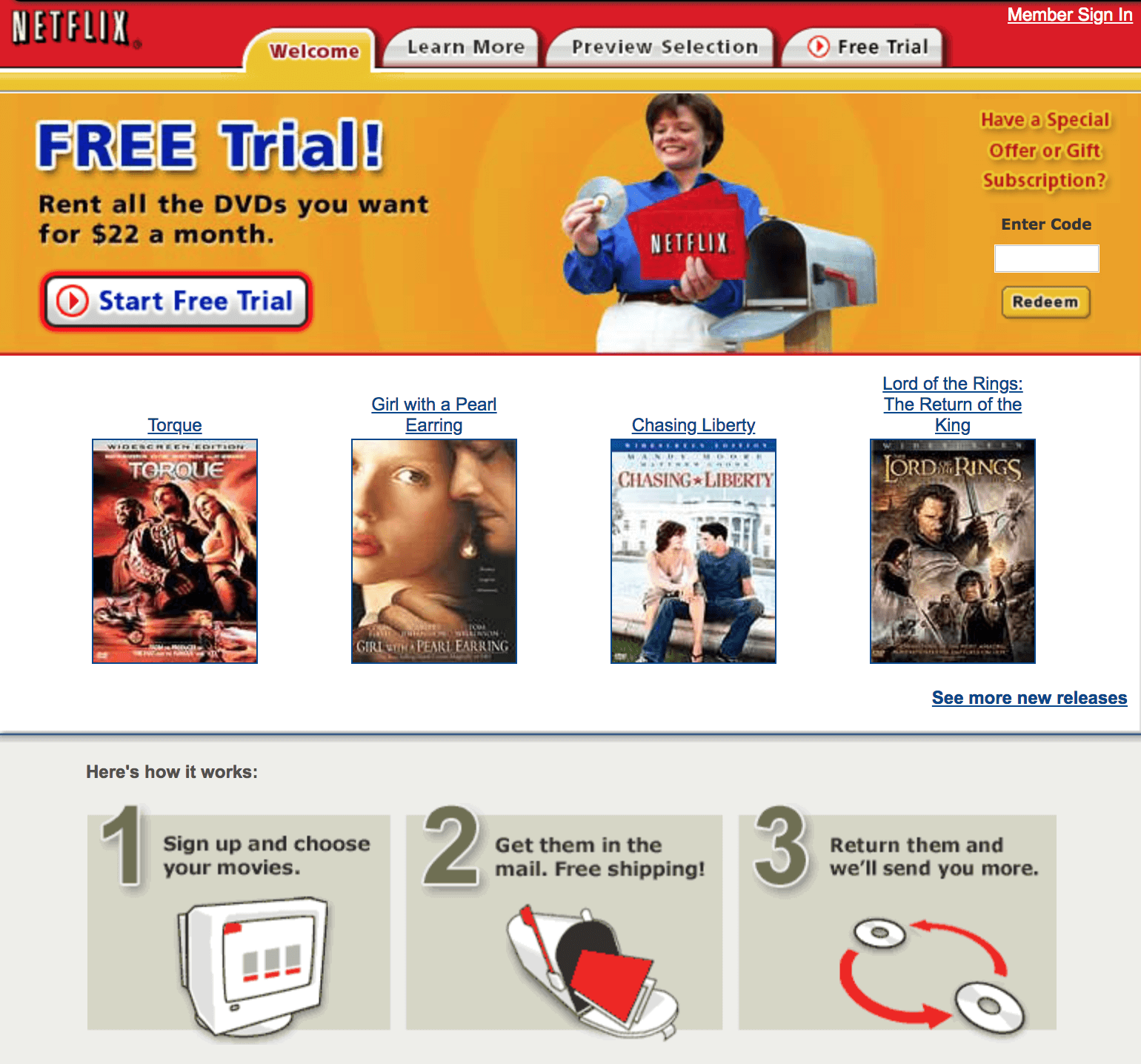 Netflix is a great example of penetration pricing strategy
