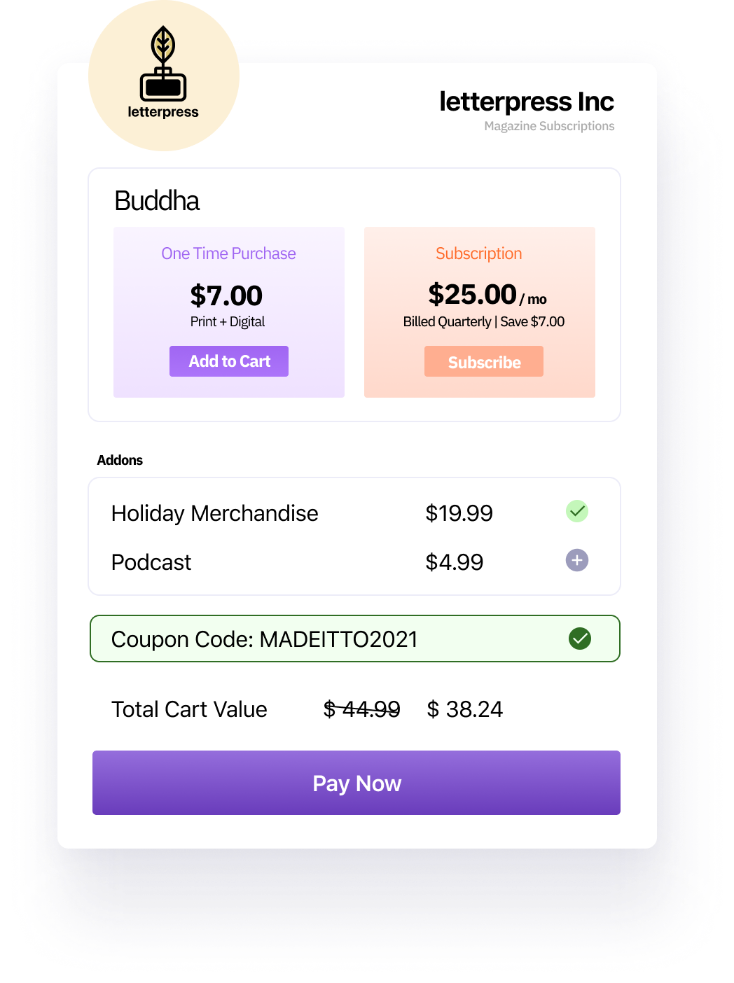 Checkout and Pricing experiments for publishing businesses